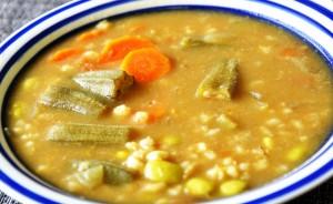 okra-barley-pappu-charu