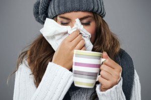 Getting a flu shot won't help your body fend off the common cold. © Anna Bizoń/iStock /Thinkstock