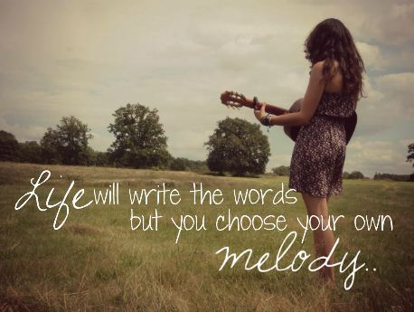 life-melody-quote