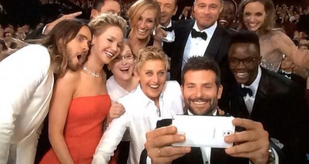 Ellen at the Oscars: A Million+ Retweets