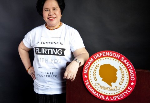 Philippines' Senator Santiago Reveals 5 Success Traits for the Youth