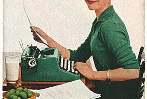 typewriter-girl