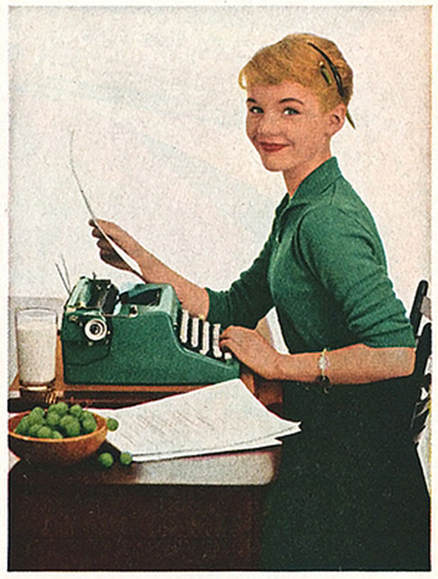 typewriter-girl