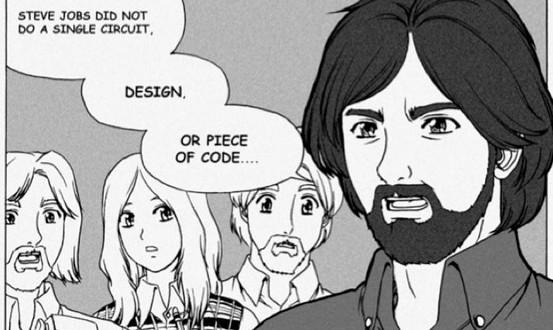 apple in comics