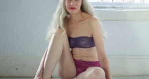 Meet American Apparel's 62-Year-Old Lingerie Model