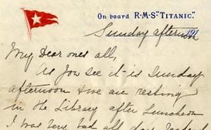 last titanic letter