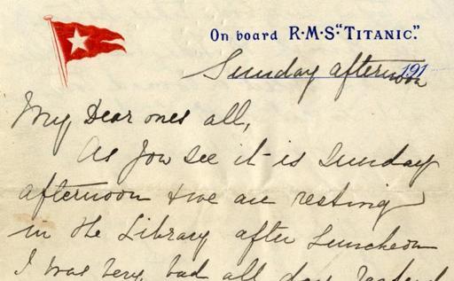last-titanic-letter