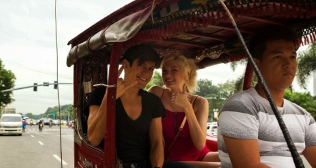 MiG Ayesa and Sophie Sumner Banner a Unique Philippine Travel TV Show
