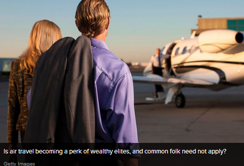 Is Air Travel Only for the Rich?
