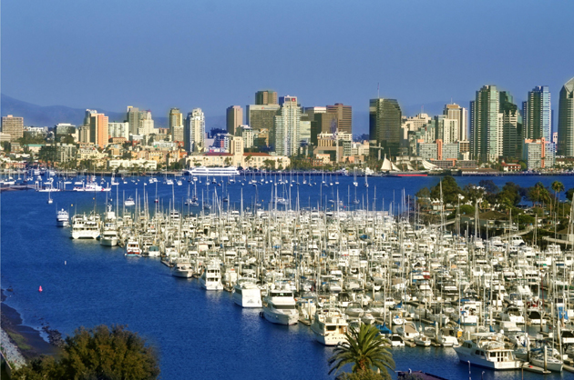 Time in san diego