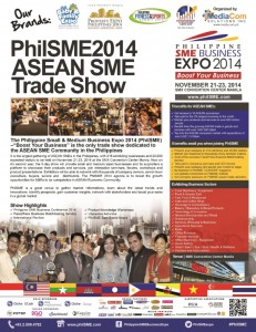 Philippine SME Business Expo 2014