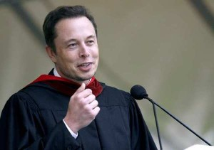 Elon Musk, CEO of SpaceX and Tesla Motors (Raul Roa/Staff Photographer)
