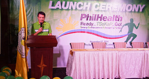 Philhealth Run 2015 on February 15 as their 20th Anniversary Event Kick-off