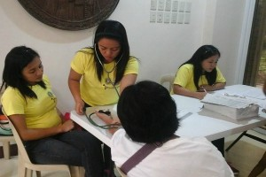 Free blood pressure taking for NHTS beneficiaries