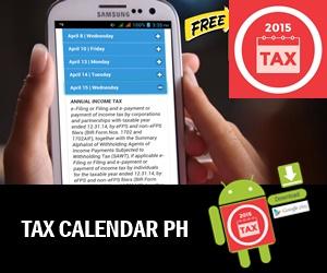 Tax Calendar 2015 Philippine Tax Calendar Mobile App Android 4 Female view 3b