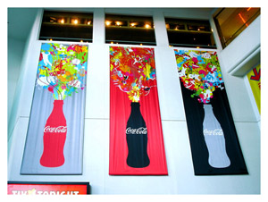 banners, vinyl-banners-printing, coke-banners