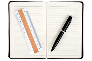 measure-your-guest-post-or-article-success, notebook-with-pen-and-ruler