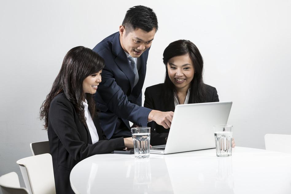 blue collar asian business - Negosentro