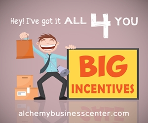 ALL 4 YOU Big Incentives by Alchemy Business Center 300 x 250