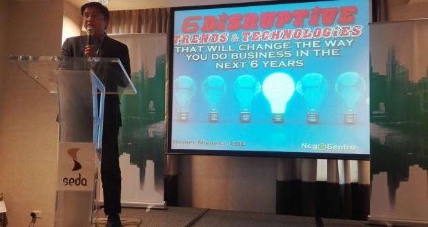 Tech Entrepreneur Nievera Keynotes Eastern Communications' Trade Roadshow in Cavite and Laguna