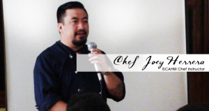 A Chefspiration is Chef Joey Herrera