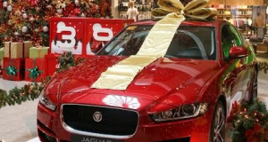 The Rockwell Christmas car raffle for a Jaguar happens on February 1st