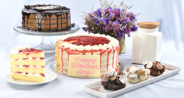 Sweets for your Sweet – Cravings Naked Strawberry    Shortcake,Naked Chocolate Caramel Cake and Heart-shaped S_mores