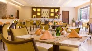 Cafe Romancon at the lobby