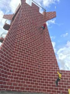 Adventure Tower -Zip line, Rappel, Wall Climb