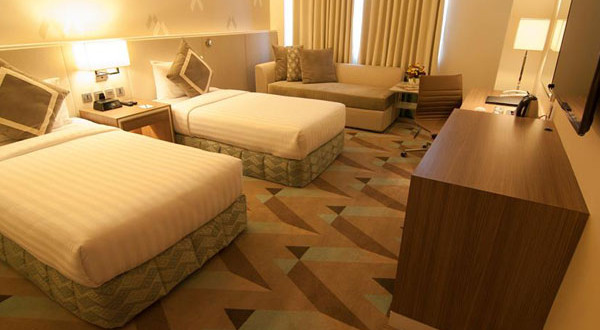 hotel benilde superior twin room