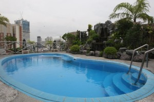Swimming Pool at the roof deck