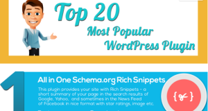 Top 20 Most Popular WordPress Plugins
