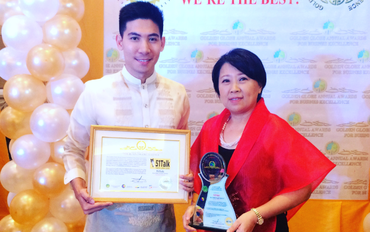 51talk, golden-globe-for-business-excellence, 51talk-awardees