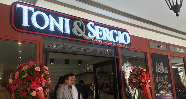 Toni & Sergio Gastro Italiano restopub is now open