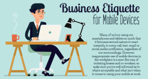Quickie Tip: Business Etiquette for Mobile Devices
