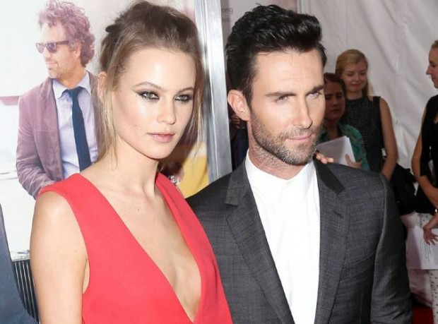 honeymoon-destinations-of-hollywood-celebs, adam-levine, behati-prinsloo