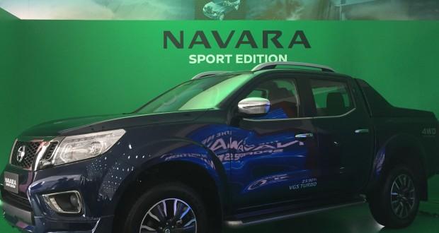 The Nissan Navara Sport Edition