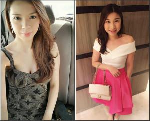 Left: Antonette Stephanie Yu, RIght: Sharlene Go