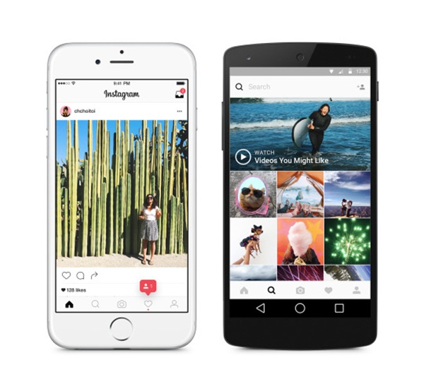 Instagram, social media, applications, apps, redesign, Ian Spalter