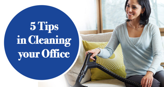 How to Clean your Work Space