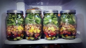 healthy hacks for busy people, healthy hacks, health tips, chia seeds, mason jar, diet tips