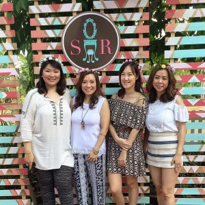 (left to right) Katherine Sy, Nathalie Toh, Diana Ong, Sophie Uy
