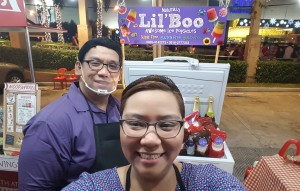 siblings Susan Cecille and Ian Carlo  maker of Lil Boo Pops
