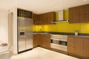 Brand New Contemporary Walnut Kitchen