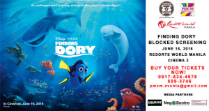 Block Screening Alert: Finding Dory