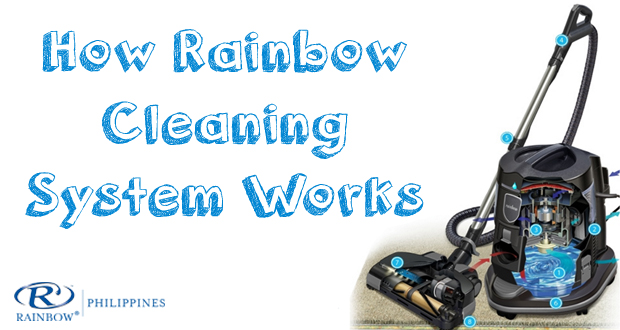 rainbow-vacuum-cleaner, rainbow-cleaning-system, rainbow-philippines, how-rainbow-cleaning-system-works
