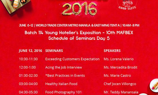mafbex, food-and-beverage-expo