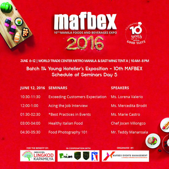 mafbex, food-and-beverage-expo