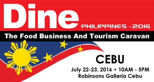 Dine Philippines 2016 goes to CEBU for food tourism seminars