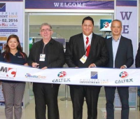 """From Left to Right: Rizalino """"Yen"""" Roxas, Manager of Asia Pacific of Chevron International; Rowena Cutangco, Product Manager of Cebuana Lhuillier; Rudolf Kotik, Founder of RK Franchise Consultancy and Filipino International Franchise Association; David Abrenilla, CEO of Mediacom Solutions Inc., Stephen Tiongko, Direct Sales Manager for Branded Marketer of Chevron Philippines; Rafael Melo, District Sales Manager for Philippine Provincial of Chevron Philippines."""